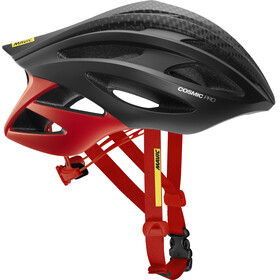 Mavic Cosmic Pro Helmet Men Black/Fiery Red